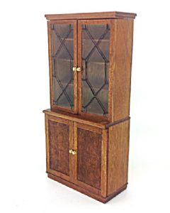 Leaded China cabinet